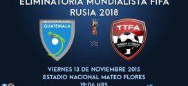 Selección de Guatemala vs Trinidad y Tobago Foto: @fedefut_oficial