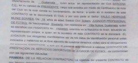 Contrato de Paulo Henrique Muniz Soares