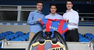 Daniel Guay Presentado con el Levante Foto: The Next Generation Sports