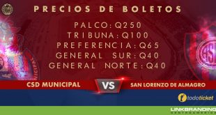 Municipal vs San Lorenzo