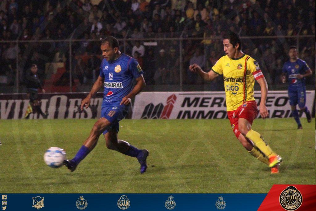 Deportivo Marquense derrota 2-1 a Municipal