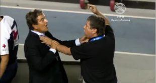 """Pinto y Hernán """"El Bolillo"""" Gómez"""