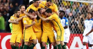 Selección de Australia 3-1 Selección de Honduras