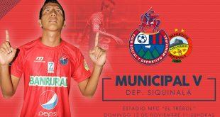 Municipal vs Deportivo Siquinalá