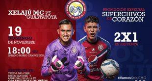 Xelajú MC vs Deportivo Guastatoya