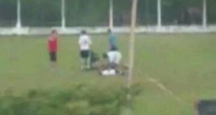 Muere futbolista juvenil alcanzado por rayo en Brasil
