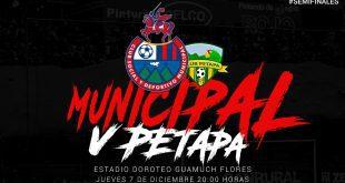 Municipal vs Deportivo Petapa Semifinal