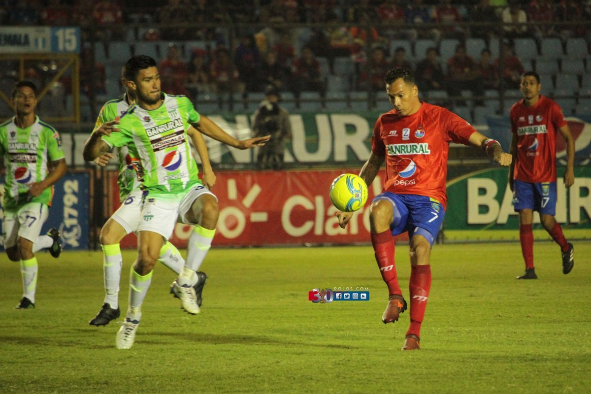 Municipal 1-1 Antigua GFC en la Final Ida del Apertura 2017