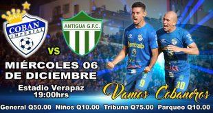 Cobán Imperial vs Antigua GFC Semifinal del Apertura 2017