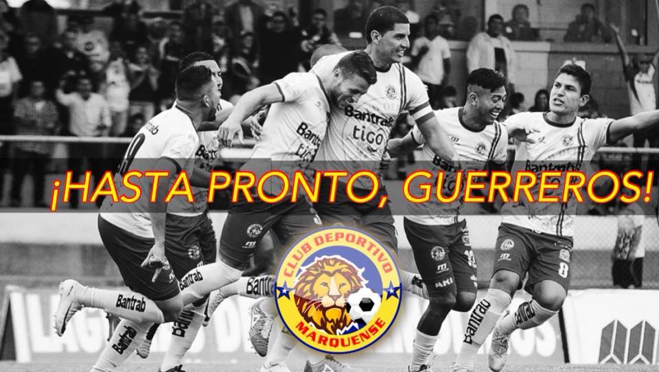 Deportivo Marquense Desciende a la Primera División