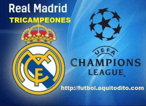 Real Madrid Tricampeón