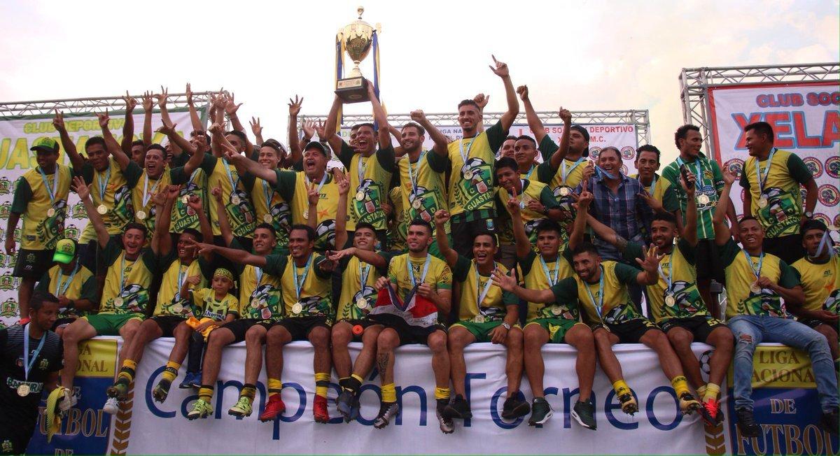 Guastatoya Campeón 2018