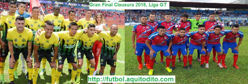 Deportivo Guastatoya vs Xelajú MC EN VIVO y EN DIRECTO