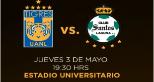 Tigres UANL vs Santos Laguna EN VIVO