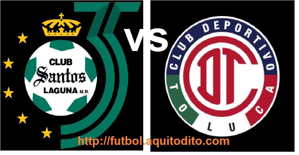 Santos Laguna vs Toluca FC EN VIVO