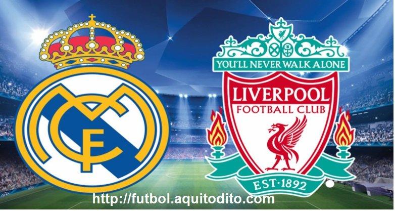 Real Madrid vs Liverpool EN VIVO y EN DIRECTO