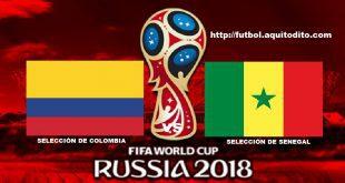 Colombia vs Senegal EN VIVO