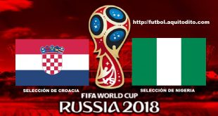 Croacia vs Nigeria EN VIVO