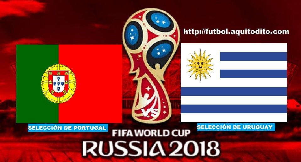 Portugal vs Uruguay EN VIVO
