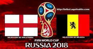 Inglaterra vs Bélgica EN VIVO