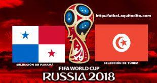 Panamá vs Túnez EN VIVO