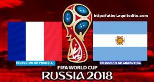 Argentina vs Francia EN VIVO
