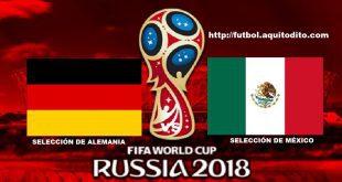 Alemania vs México EN VIVO
