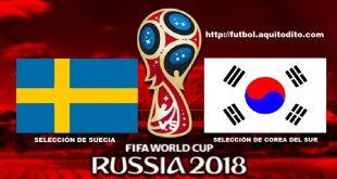 Suecia vs Corea del Sur EN VIVO