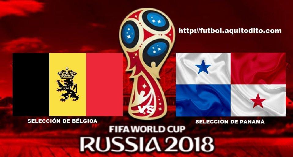 Bélgica vs Panamá EN VIVO