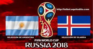 Argentina vs Islandia EN VIVO