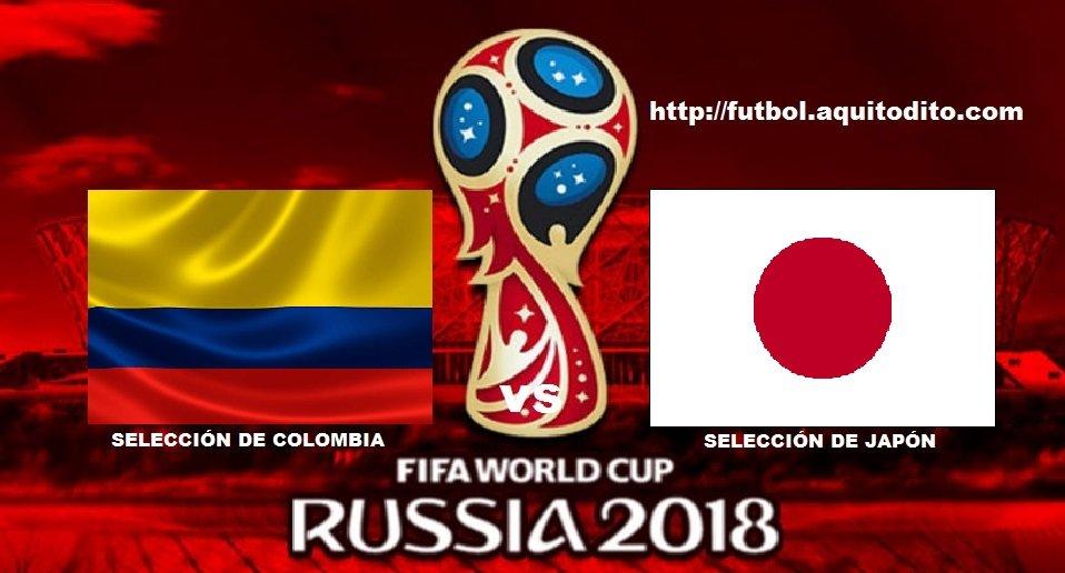 Colombia vs Japón EN VIVO