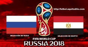 Rusia vs Egipto EN VIVO