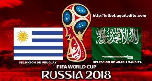 Uruguay vs Arabia Saudita EN VIVO