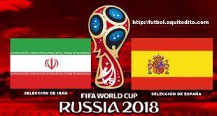 Irán vs España EN VIVO