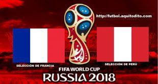 Francia vs Perú EN VIVO
