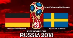 Alemania vs Suecia EN VIVO