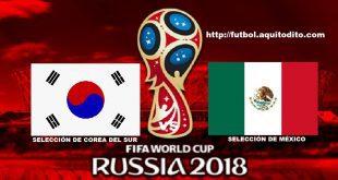 Corea del Sur vs México EN VIVO