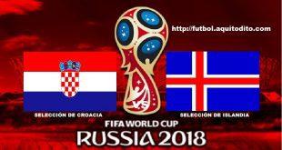 Croacia vs Islandia EN VIVO