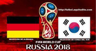 Alemania vs Corea del Sur EN VIVO