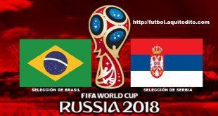 Brasil vs Serbia EN VIVO