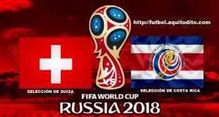 Suiza vs Costa Rica EN VIVO