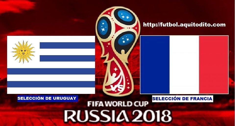 Uruguay vs Francia EN VIVO