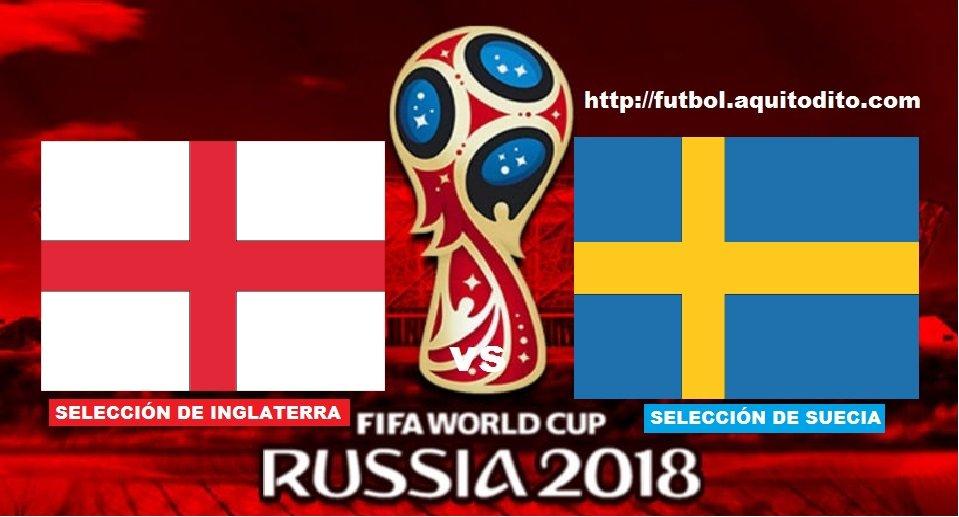 Inglaterra vs Suecia EN VIVO