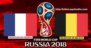 Francia vs Bélgica EN VIVO