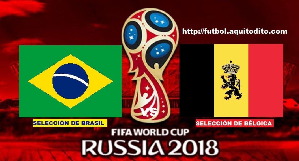 Brasil vs Bélgica EN VIVO
