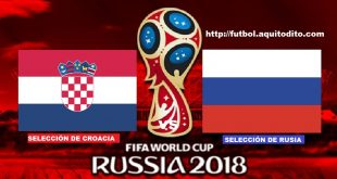 Croacia vs Rusia EN VIVO