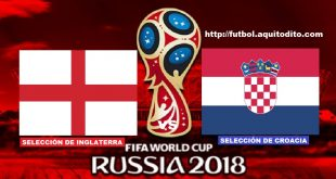 Inglaterra vs Croacia EN VIVO