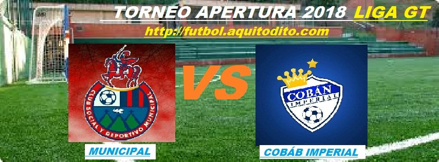 Municipal vs Cóban Imperial EN VIVO