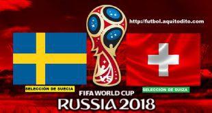 Suecia vs Suiza EN VIVO