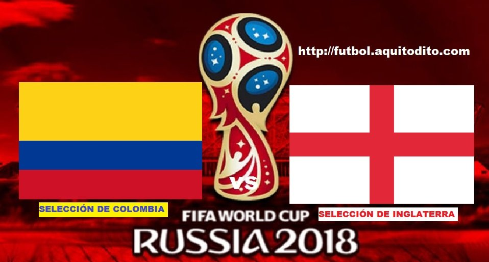 Colombia vs Inglaterra EN VIVO